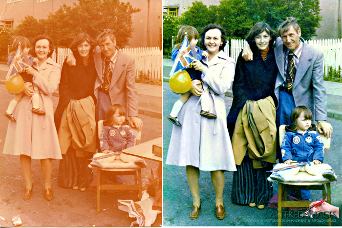 Photograph Restoration by Altered Images
